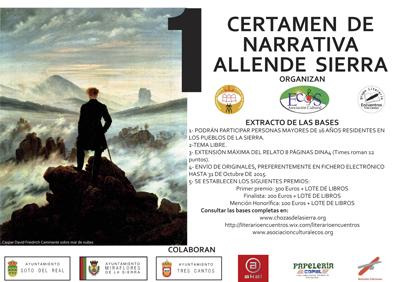 Cartel AllendeSierra- 20151