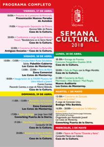VenturadaSemanaCultural18